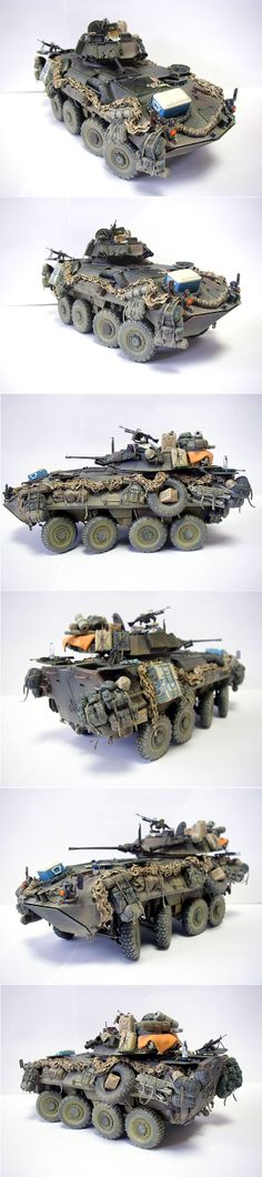 LAV-25 1:35 Scale. Loving that cooler on the hood. Hahaha!
