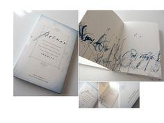 """Coordinación y diseño de""""Poemas, variaciones de un ínfimo esplendor"""": Silvia Cordero Vega. Autora: Lucía Fontenla. Logo y caligrafías de Brody Neuenschwander. Año: 2008."""