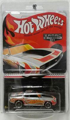 2014 Hot Wheels '69 Camaro Race Rewards ZAMAC
