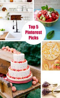 Top 5 Pinterest PIcks with sweet wedding ideas.