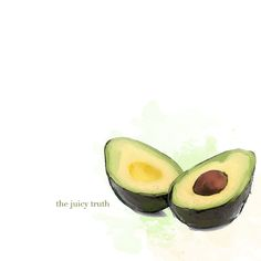 honestly avocados inspire me. Why is that?