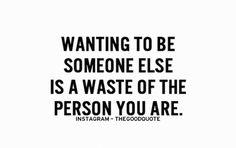 Atrévete a ser tú mismo y a admirar tu persona. No importa lo que opinen los demás, tú vales mucho. #Psicologia #Bienestar