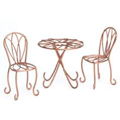 Bistro Set Table and 2 Chairs  http://www.efairies.com/store/pc/Bistro-Set-Table-and-2-Chairs-245p7352.htm  $15.95