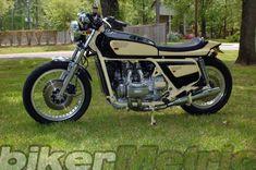 gl1000 goldwing street machine | richard becker
