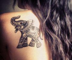 Elephant Tattoo Meaning - EnkiVillage
