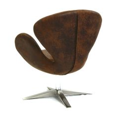 Best Selling Home Decor Modern Brown Petal Chair   ATG Stores