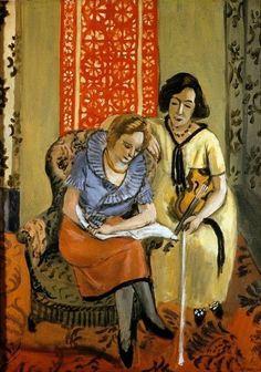 Musicians - Henri Matisse, 1921