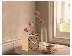 3D Paper Cardboard Square Clock Model Creative Home Decor Office Ornament [officesupplies06192053] - $21 : lovepaperworld.com