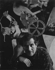 Arnold Newman 1941 Marc Chagall