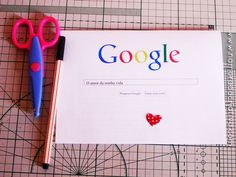 """Cartão Google """"O homem da minha vida""""   Namorada Criativa - Por Chaiene Morais"""
