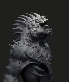 """3D PRINT """"TITAN"""" Wip, kevin demuynck on ArtStation at https://www.artstation.com/artwork/3d-print-titan-wip http://amzn.to/2sBSGPf"""