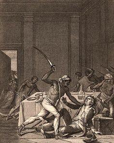 A Jamaican slave revolt, 1759