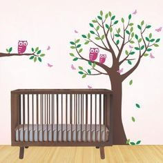 "The perfect complement to your baby nursery! This wall decal set includes an 80""…"