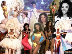 Nicole Dyer, Miss Trinidad and Tobago Universe, 1999. -