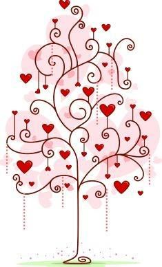 Valentine Clipart - Illustration by BNP Design Studio Doodle Drawings, Doodle Art, Heart Doodle, Image Digital, I Love Heart, Valentine Decorations, Heart Art, Tree Art, Happy Valentines Day