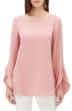 online shopping for Lafayette 148 New York Emory Finesse Crepe Blouse from top store. See new offer for Lafayette 148 New York Emory Finesse Crepe Blouse Blouse Styles, Blouse Designs, Sleeves Designs For Dresses, Stylish Blouse Design, Stylish Tops, Crepe Fabric, Blouse Online, Chic Outfits, Blouses For Women
