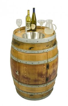 Wine Barrel Sink