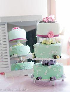 Hochzeit wedding cake Torte kuchen Flower Green rose