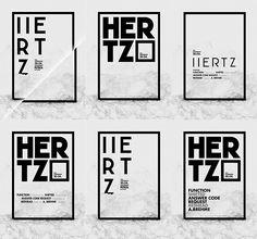 H E R T Z on Behance