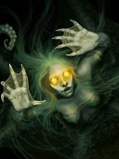 deviantart scary mermaids - Google Search