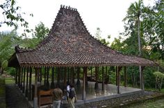 A Reconstructed Pendopo in the Compound of Sitok Srengenge's House by jiattison, via Flickr