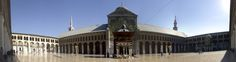 Great Mosque of Damascus Damascus Syria. A shrine to John the Baptist (or Yahya) [9925x2615] - see http://www.classybro.com/ for more!