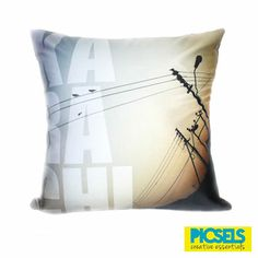 KARACHI cushion. For details and orders please email us at picselsce@gmail.com