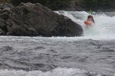 Jakub Sedivy boofin nicely Norway Valldal Road Trip 2012 by gene17kayaking, http://gene17kayaking.com/kayaking-adventures/norway-valldal-road-trip/