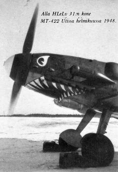 Finnish Air Force Bf-109G-6 DO IT!