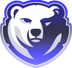 Polar Bear Logo, Hockey Logos, Game Logo Design, Esports Logo, Mobile Legend Wallpaper, Bear Tattoos, Bear Art, Whatsapp Messenger, Animal Logo