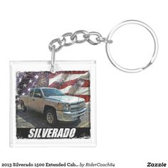 2013 Silverado 1500 Extended Cab LS Keychain