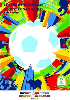 Official Poster for the city of Sao Paulo #2014worldcup #hostcity