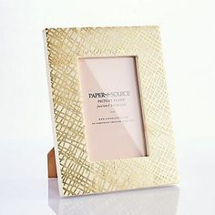 Gold Foil Bone Frame