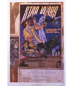 1977 Star Wars Original US Style D Film Poster