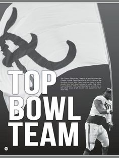 TOP BOWL TEAM - Alabama leads the country in the number of bowl games played - from the 2016 Alabama Football Media Guide #Alabama #RollTide #BuiltByBama #Bama #BamaNation #CrimsonTide #RTR #Tide #RammerJammer #2016AlabamaFootballMediaGuide