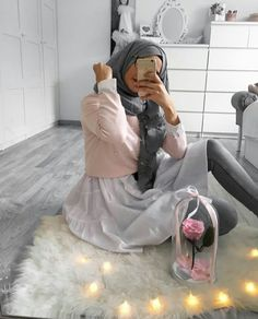 Muslim Shop, Hijab Moda, Hijab Style Tutorial, Hijab Fashion Inspiration, Islam, Muslim Girls, Fashion Couple, Mode Hijab, Hijab Outfit