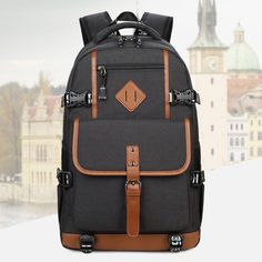 Men Backpack Teenage Backpacks For Teen Boys School Bagpack Laptop Male  Backpack High Quality Men Travel Bags Teenagers Mochila. Product ID  b28be9e574