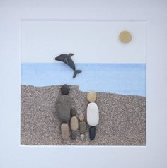 Welcome to my shop. This picture is made to order as the one shown has been sold to a customer. This lovely picture will be made from pebbles and shells that have been picked from the norfolk coast. Any order will be made as near identical to the one shown. The picture shows a
