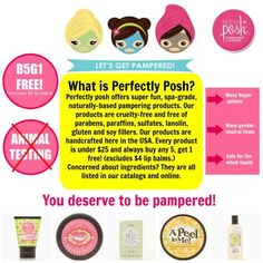 Perfectly Posh Online Launch Party + GIVEAWAY