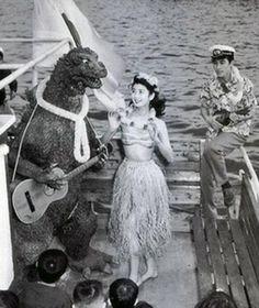 Godzilla Ukulele band, no really