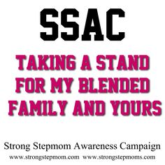Join the campaign. Help raise awareness about alienation.  https://www.facebook.com/StrongStepmom  http://www.strongstepmom.com/  http://www.strongstepmoms.com/
