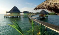 Bocas Del Toro, Panama - These 68 islands off the Caribbean coast of Panama anchor a complex marine ecosystem that mingles palm-fringed beaches, shallow lagoons, and barrier reefs. Step outside your eco-lodge—reached by wooden walkways—to enjoy swimming, kayaking, and snorkeling from a wraparound terrace.