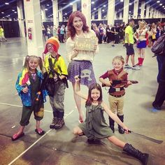Jewel Staite and Some Tiny Browncoats