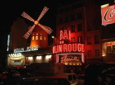 A trip over to Paris to go watch a show at the legendary Moulin Rouge! Cabaret, Moulin Rouge Paris, Le Moulin, Oh The Places You'll Go, Places To Travel, Places Ive Been, Pigalle Paris, Red Light District, Romantic Night