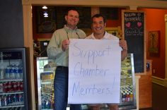"May 10, 2013 ""Shop Where Your Heart Is"" Cash Mob: MorningSide Coffee House"