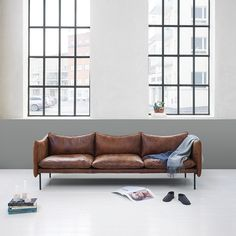 Oslo designer Andreas Engesvik has expanded his seating collection and added a new table to the range offered by Swedish design brand Fogia Sofa Design, Interior Design, Home Furniture, Furniture Design, Tiny Loft, Funky Home Decor, 3 Seater Sofa, Furniture Companies, Oslo