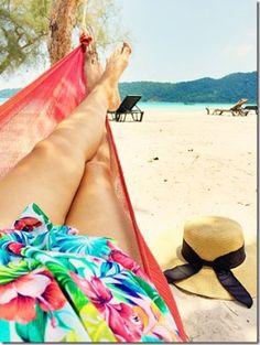 Relaxing on Koh Rong Samloem Island (Cambodia) - read more on wanderluststorytellers.com.au
