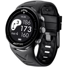All Sport GPS Watch: The Callaway All Sport GPS Watch combines 3 features into 1 lightweight design. On the course, know your distances and…