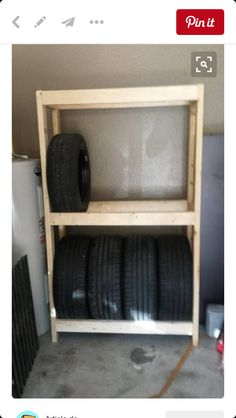 Rolling Tire Storage Rack How To Build A Tire Rack  Pinterest  Tire Rack Tired And Storage