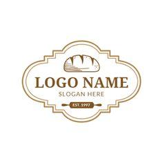 Criador de Logótipos de Padarias Online Grátis | DesignEvo Baking Logo Design, Food Logo Design, Logo Food, Design Art, Graphic Design, Make Your Logo, How To Make Logo, Pastry Logo, Cafe Shop Design